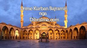 Urime festa e Kurban Bajramit