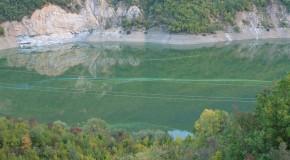 Liqeni i Dibrës po shëndrohet në një moçal gjigand