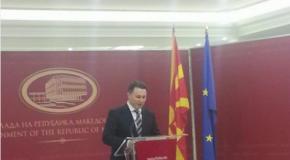 Nikolla Gruevski jep dorëheqje