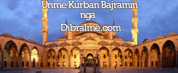 Urime dhe për shumë vite festa e Kurban Bajramit
